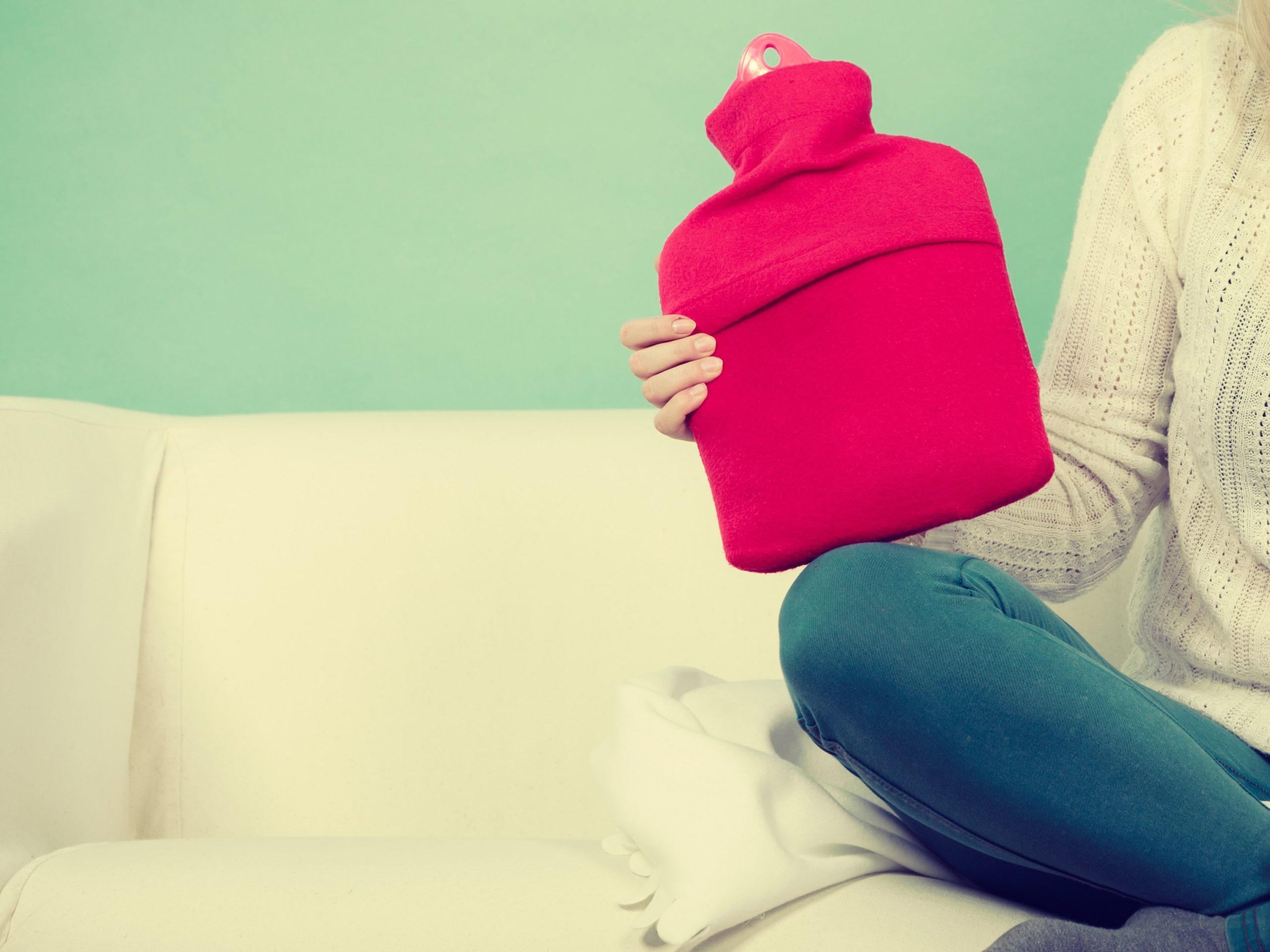 Wärmflasche bei Schleimbeutelentzündung