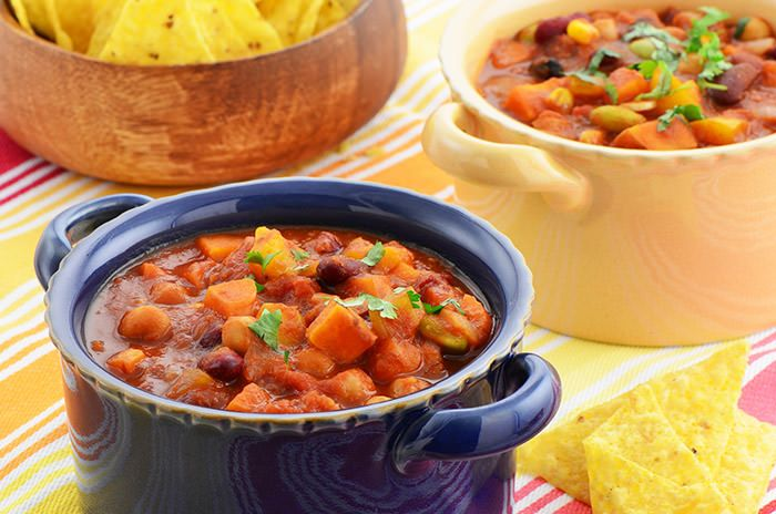 vegetarischen-suesskartoffel-chili