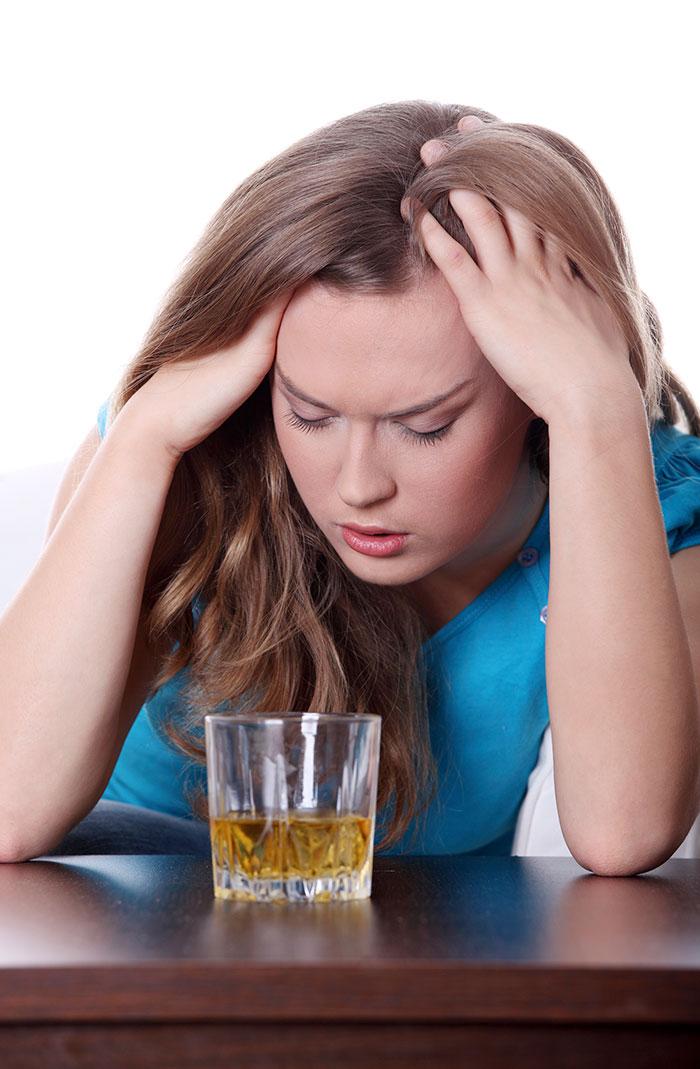 alkohol-glass