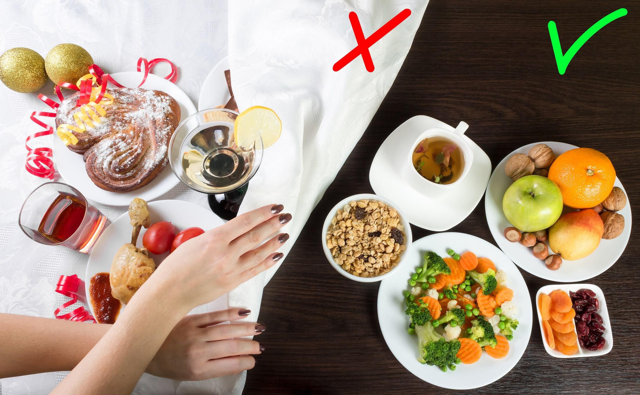 Was du essen solltest und was nicht