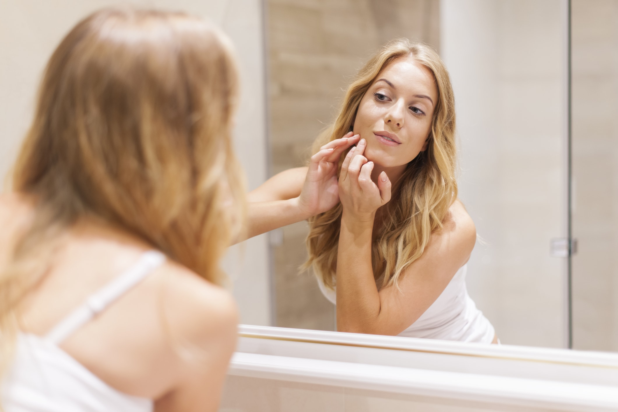 Zahnpasta für ein gutes Hautbild