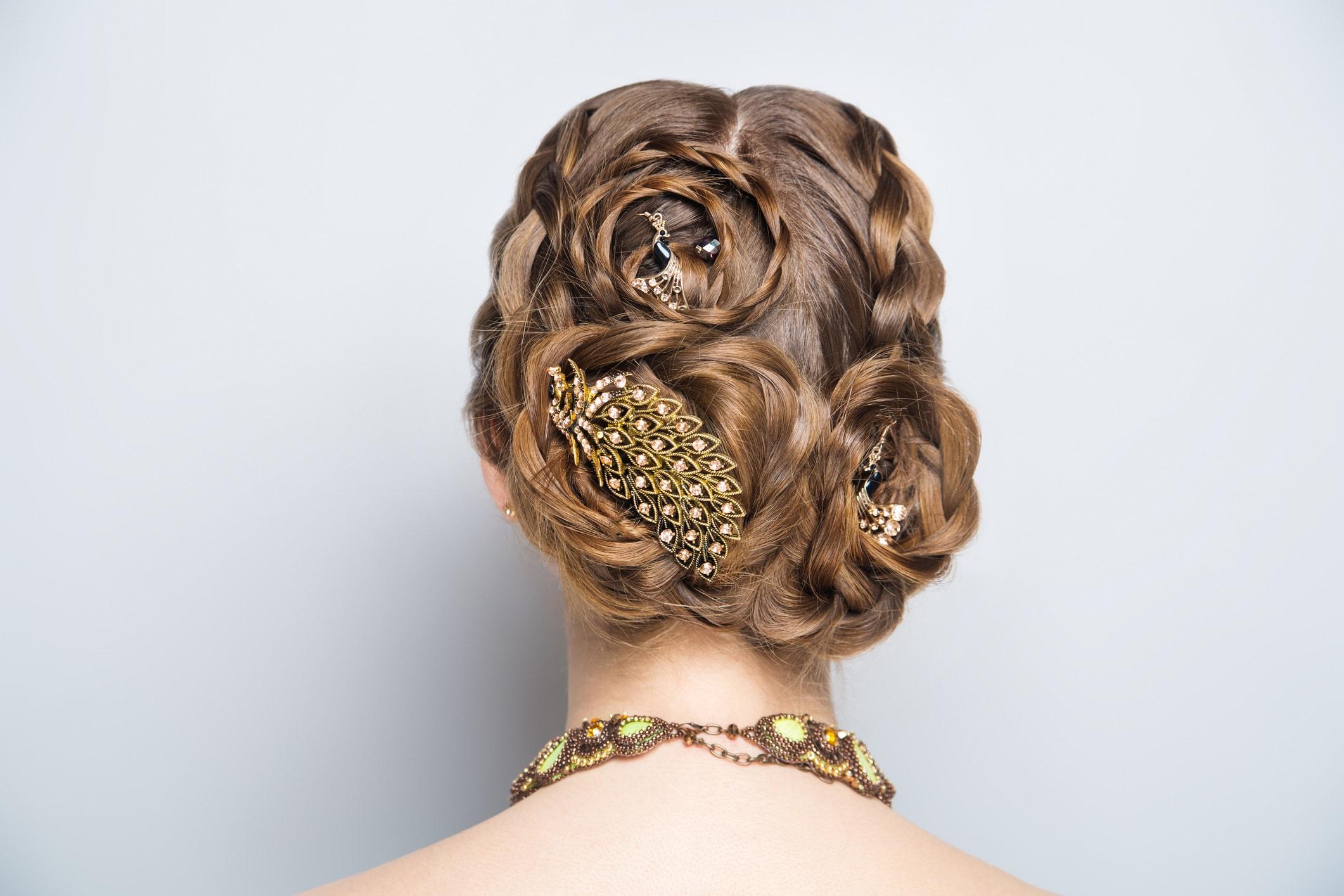 Haarspangen können den Haaren schaden