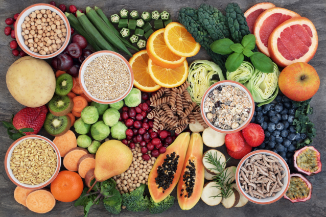 Gesunde und abwechslungsreihe Ernährung