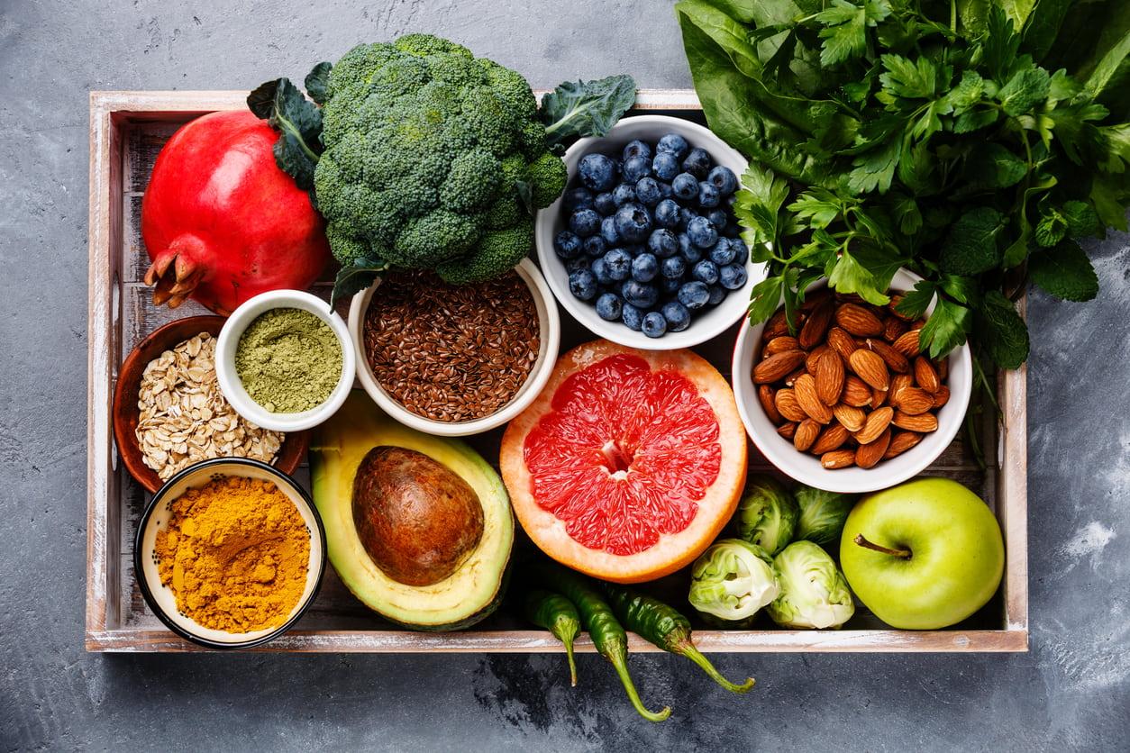 Gesundes Essen hilft beim Haarwachstum