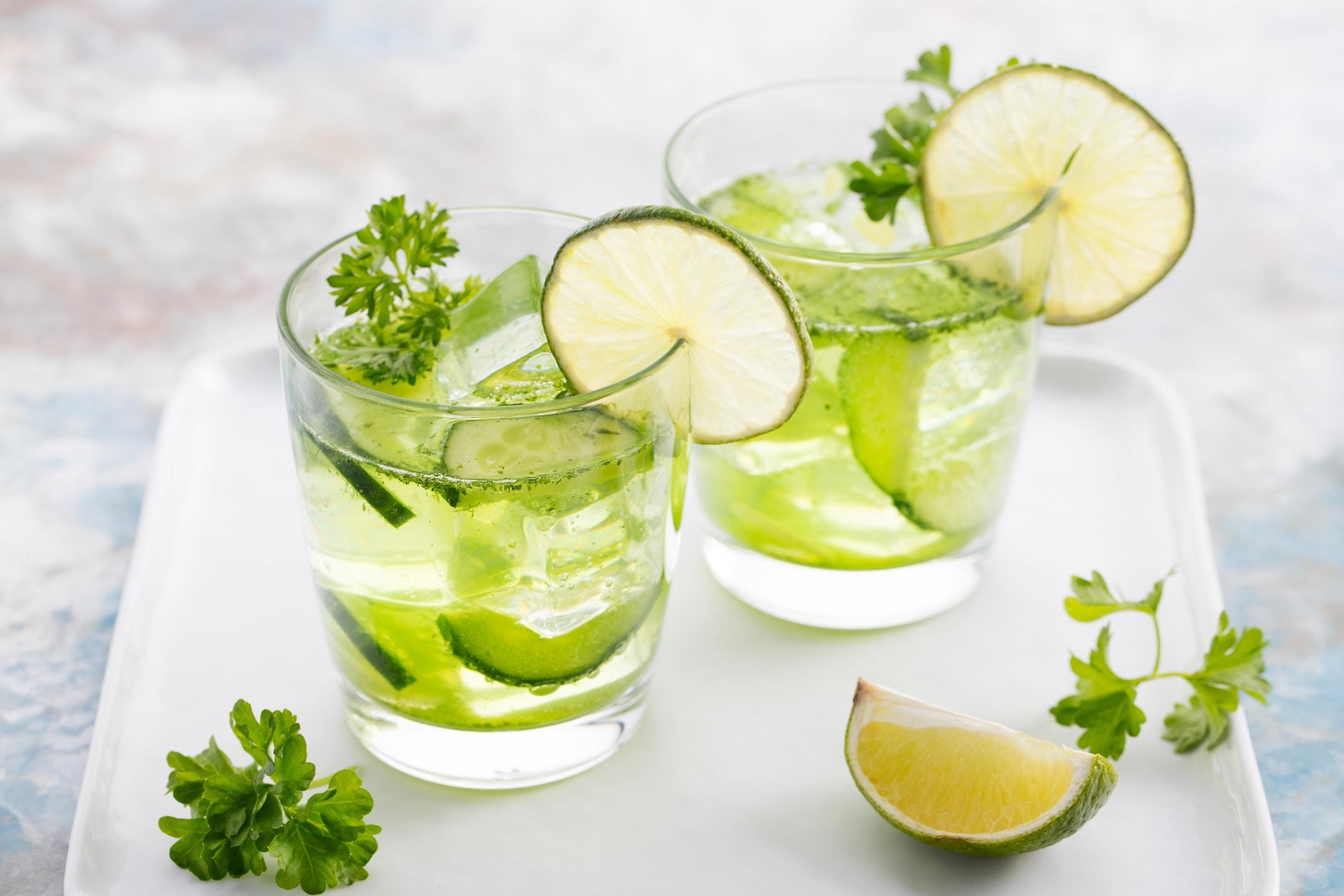 Limettenwasser