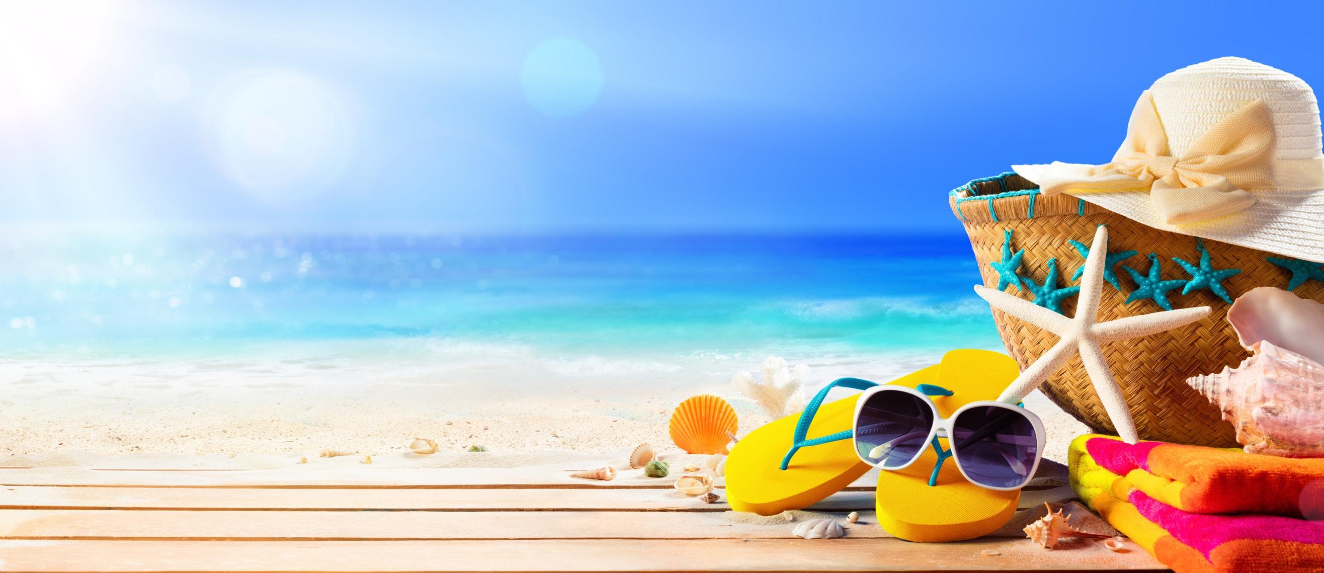 Meer- und Salzwasser haben Einfluss auf trockene Haut.
