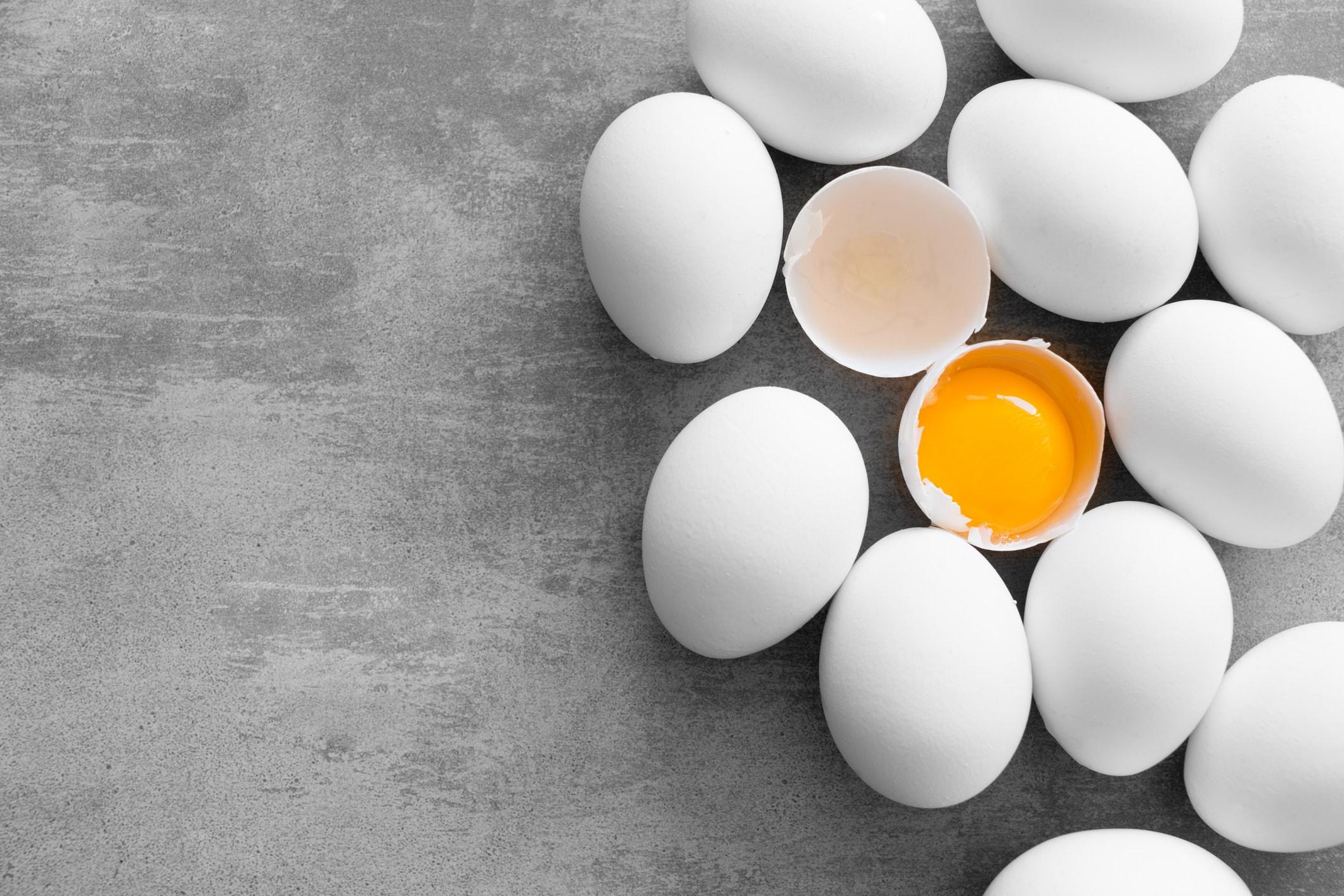 Eier und Quark bieten ideale Proteine