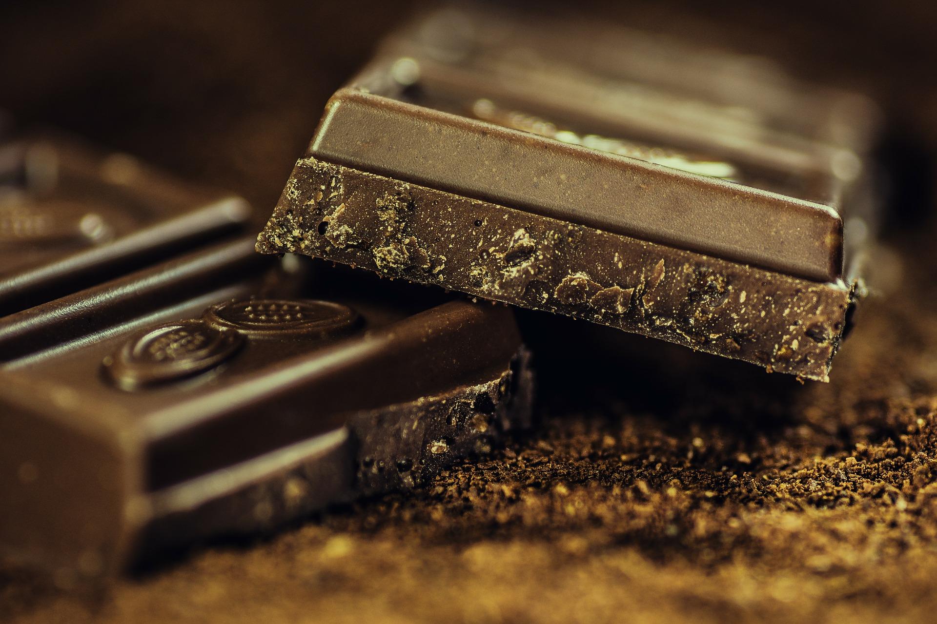 Laktosearme Schokolade (Zartbitter)