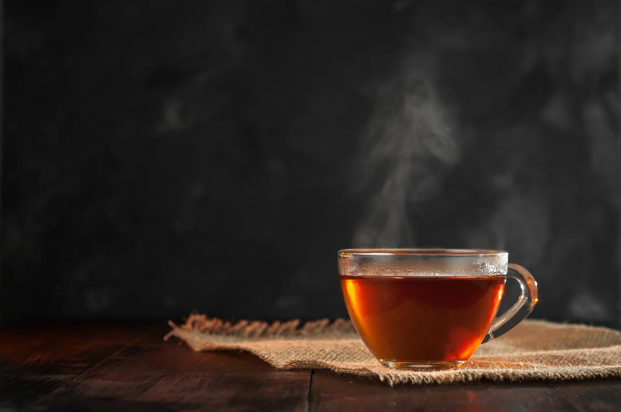 Heißer Tee
