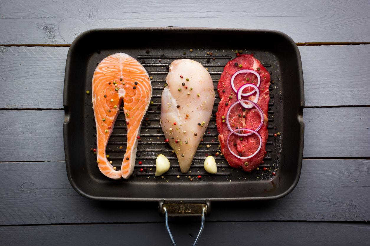 Welche Lebensmittel enthalten Protein, um Gewicht zu verlieren