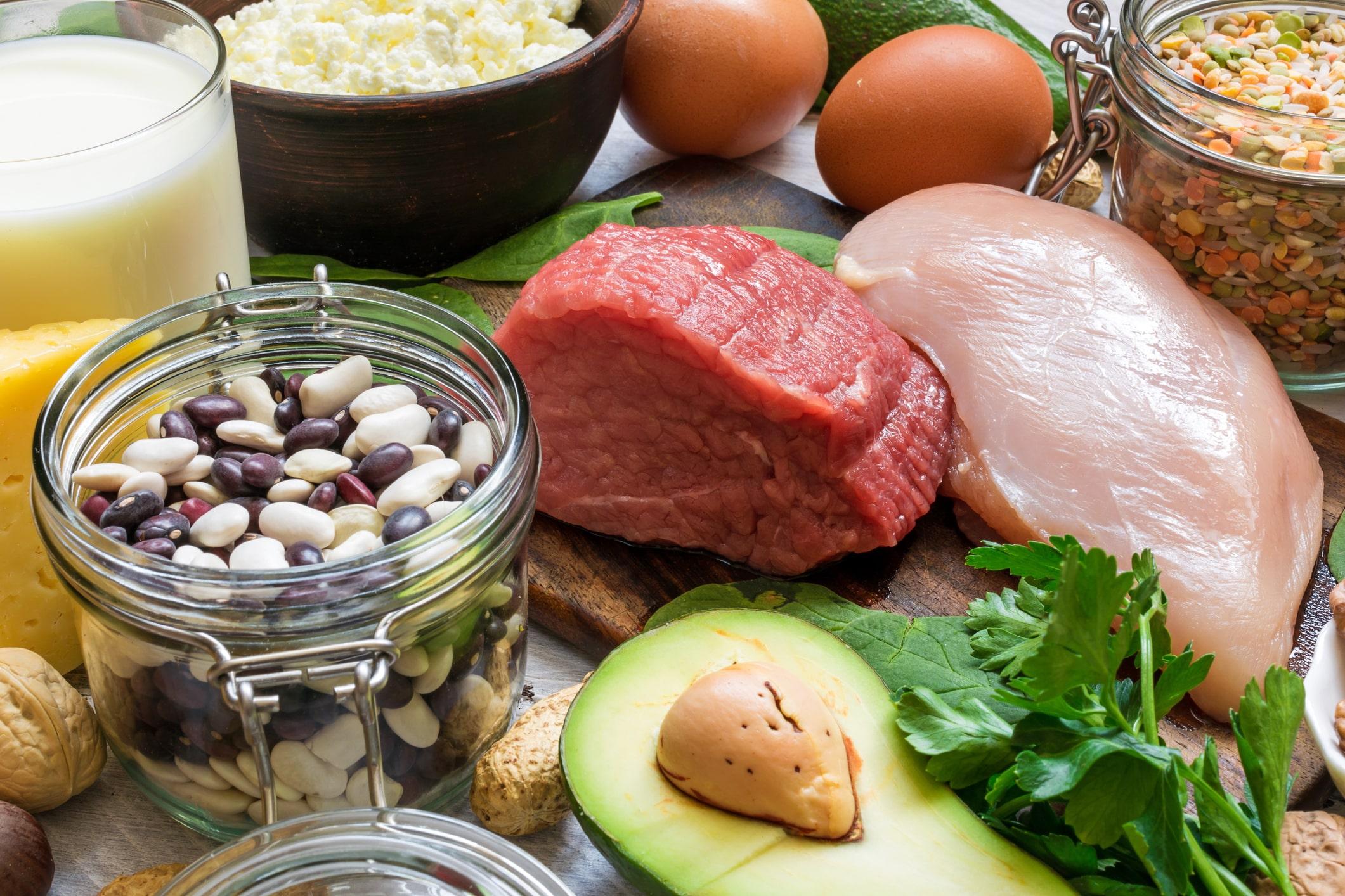 Vitamin B6-haltige Lebensmittel