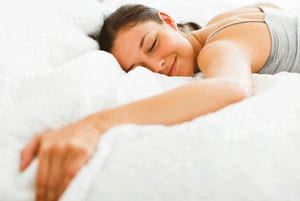 Sorge für erholsamen Schlaf