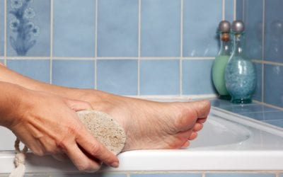 Tipps und Hausmittel gegen trockene Füße