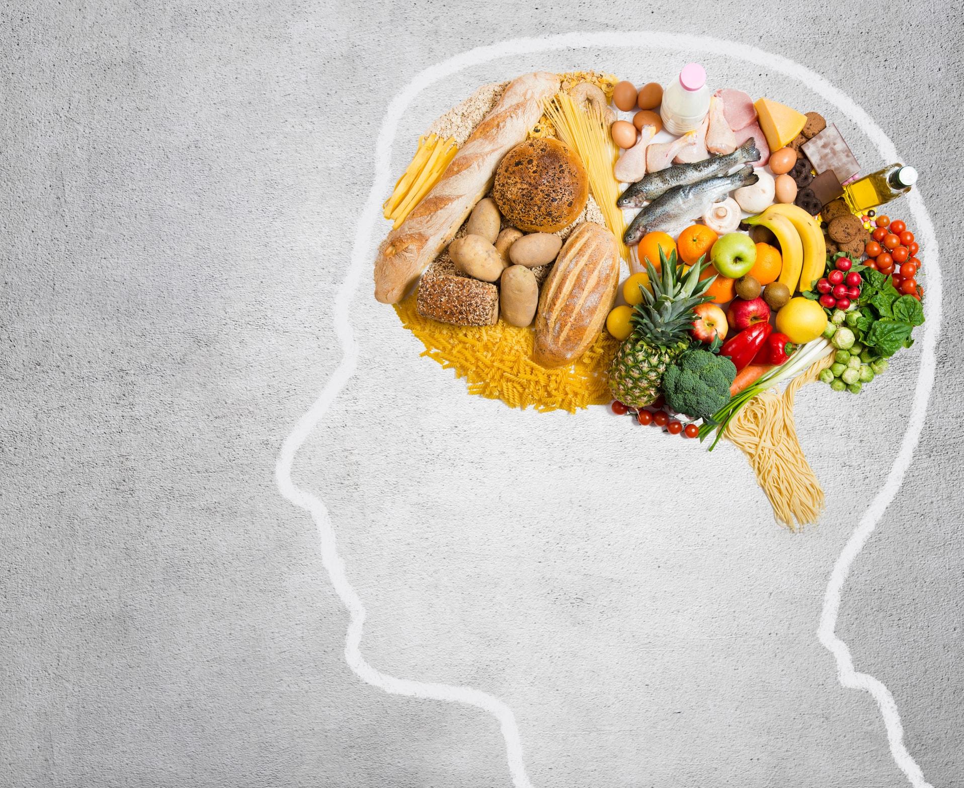 Gesunde Ernährung hilft gegen Pickel am Rücken