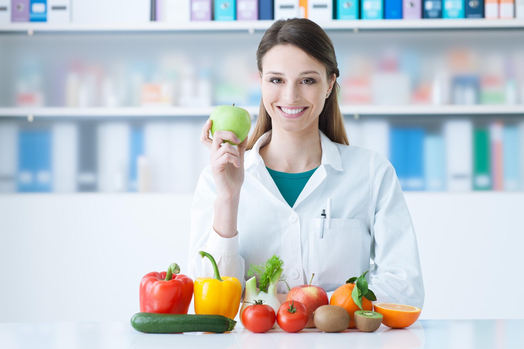 Apotheke, Obst, Gemüse