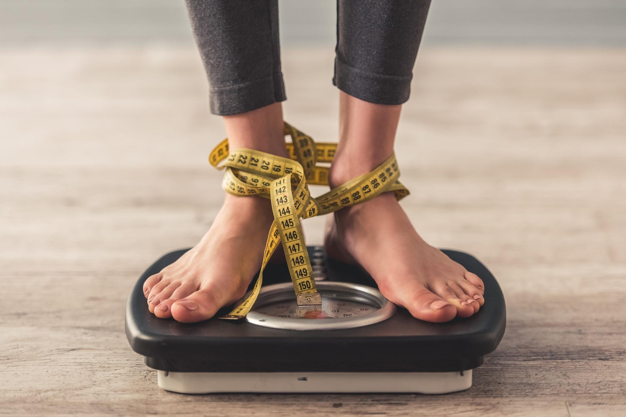 Gewichtsschwankungen bis zu drei Kilo sind normal