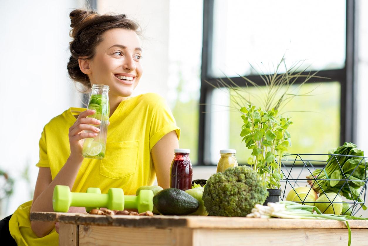 Gesundes Essen ist für einen gesunden Darm sehr wichtig.