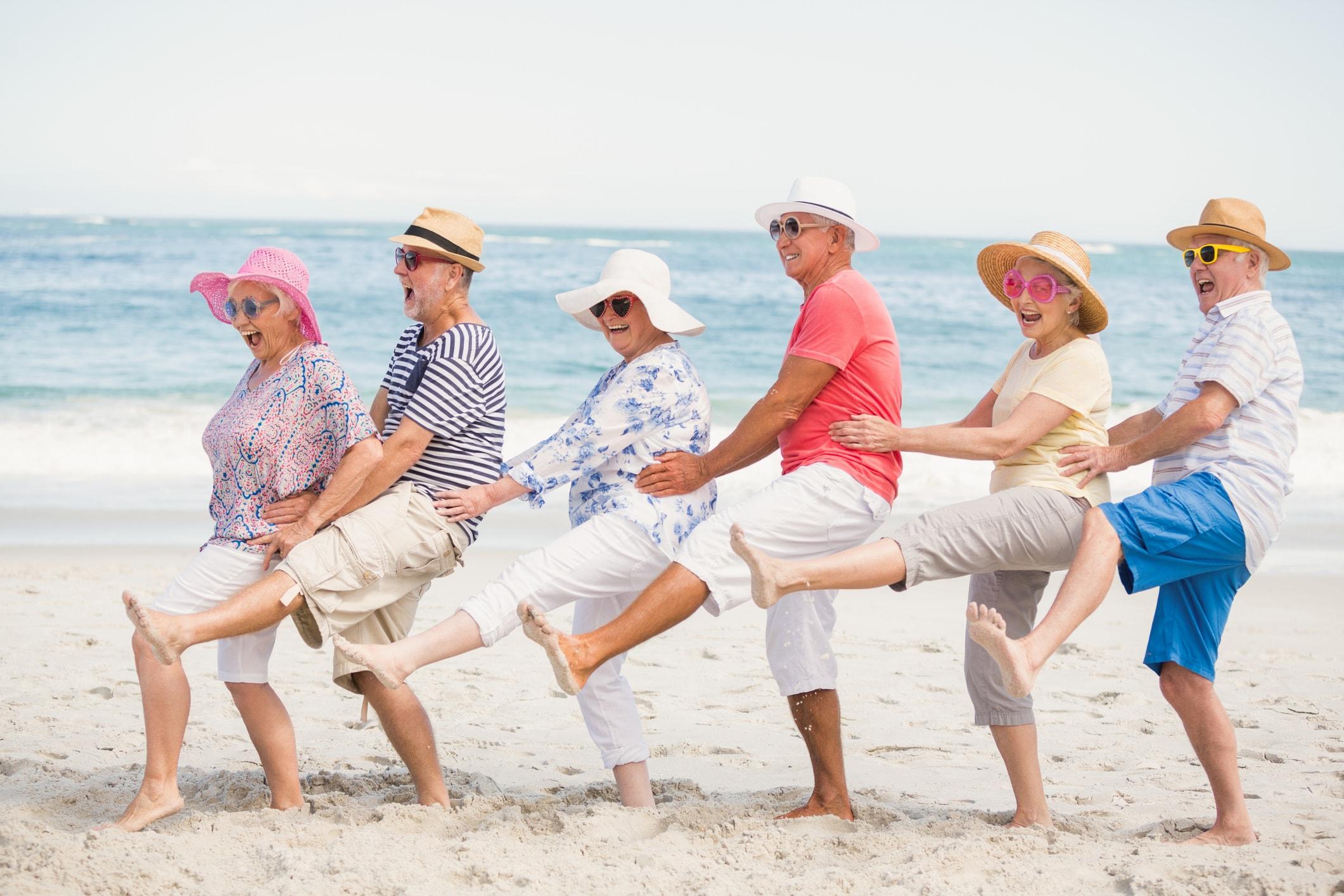 Senioren haben Spaß