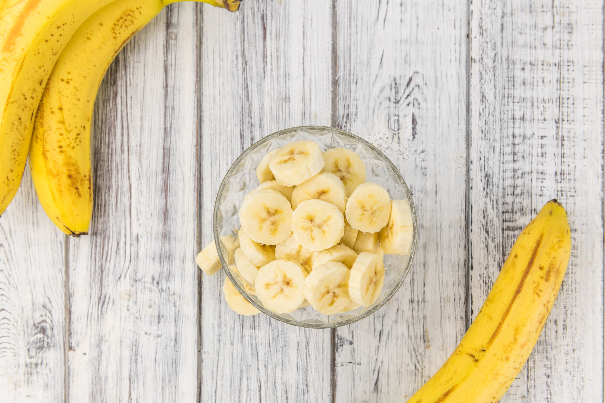 Bananen helfen gegen trockene Füße