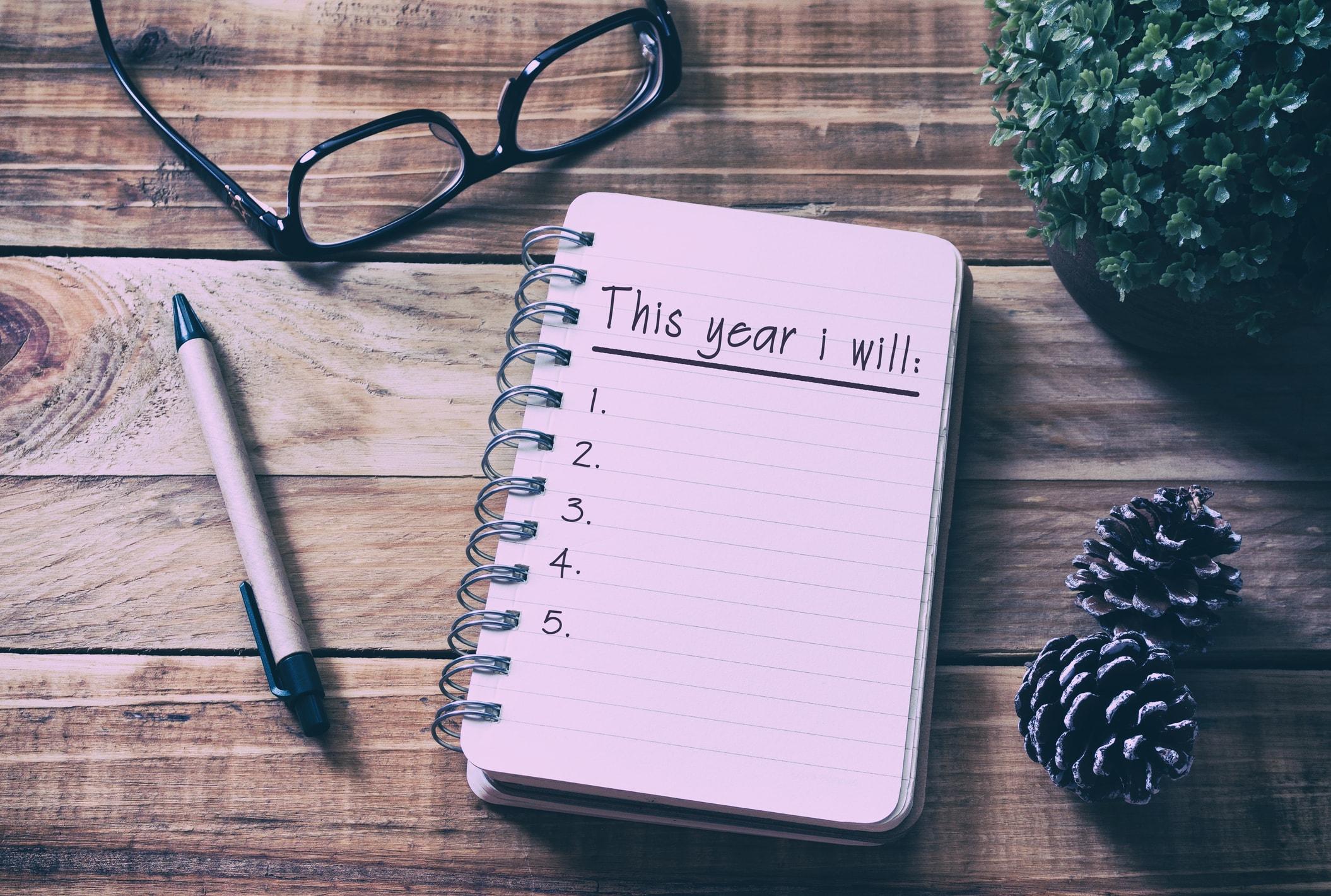 Ziele fürs neue Jahr