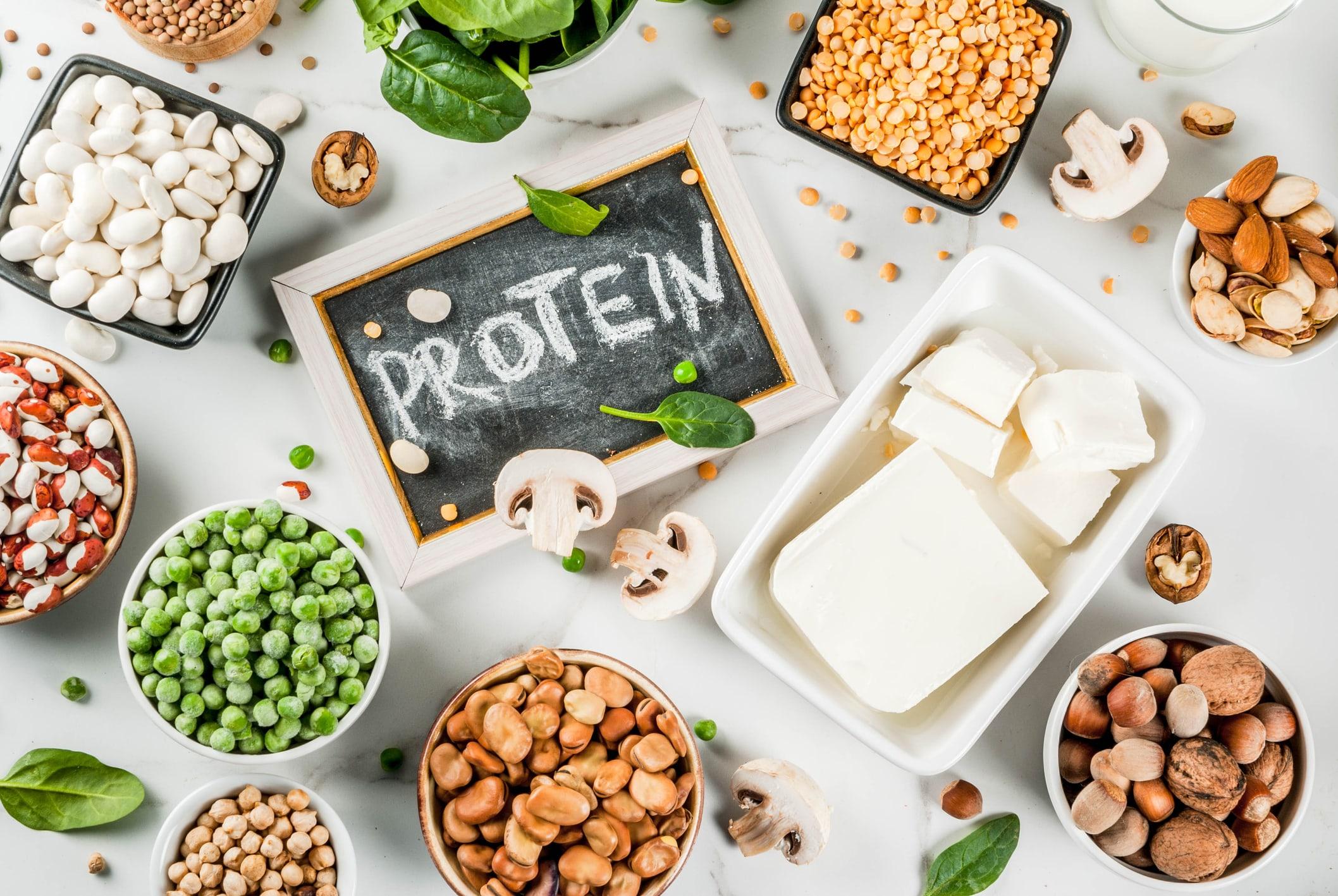 Proteinhaltige Produkte