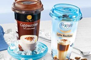 Zuckerhaltige Kaffe-Drinks