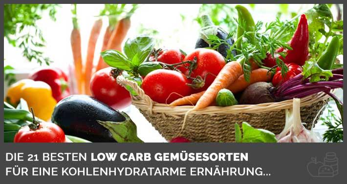 Gemüse ist während einer Low Carb Diät dein bester Freund