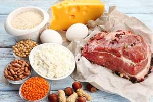 Proteinreiche Nahrungsmittel